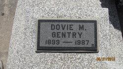 Dovie M <i>Brewer</i> Gentry