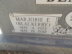 Marjorie Ellen Margie <i>Blackerby</i> Bentley