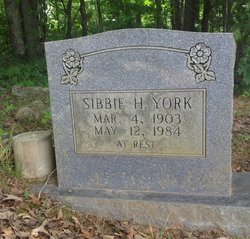Sibbie Genelia <i>Hopkins</i> York