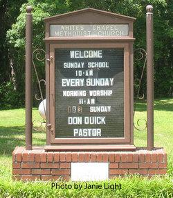 Whites Chapel Methodist Church Cemetery