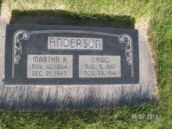 Martha Kirstina <i>Christensen</i> Anderson