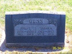 Sarah Ann Greenhalgh <i>Rees</i> Gunn