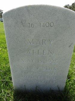 Mary <i>Hughes</i> Allen