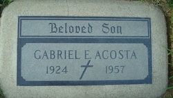 Gabriel E Acosta