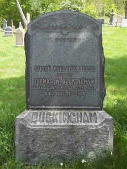 Susan Adelaide <i>Nurse</i> Buckingham