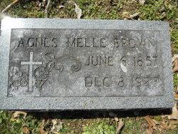 Agnes <i>Melle</i> Brown