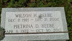 Wilson H Beebe