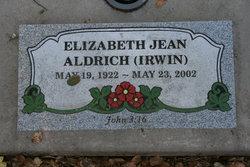 Elizabeth Jean Aldrich
