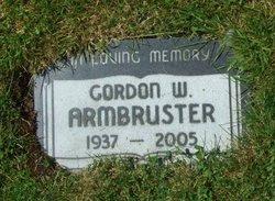 Gordon W Armbruster