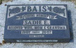 Sadie E Bais