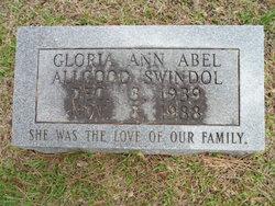 Gloria Ann <i>Abel</i> Allgood Swindol
