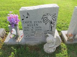 Cayce Lynn Allen