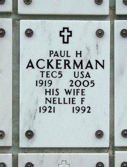 Paul H Ackerman