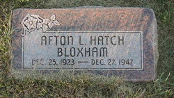 Afton Lloyd <i>Hatch</i> Bloxham
