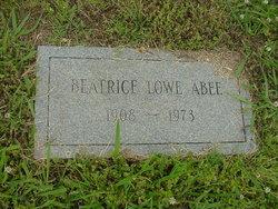 Beatrice <i>Lowe</i> Abee