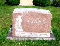 Alfred F Adams