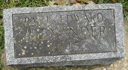 Paul Edward Alexander