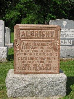 Catherine <i>Myers</i> Albright