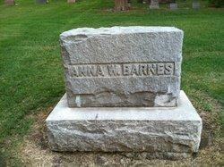 Mrs Anna <i>Warner</i> Barnes