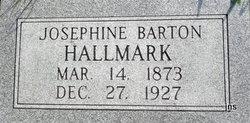Josephine <i>Barton</i> Hallmark