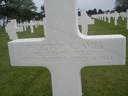 PFC Proctor K Ames