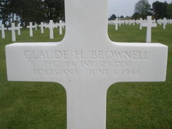 PFC Claude H Brownell
