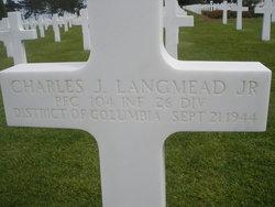 PFC Charles J Langmead, Jr