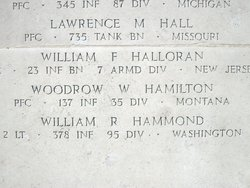 PFC Woodrow W Hamilton