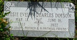 Rosie Evelyn <i>Quarles</i> Dotson