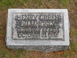 Henry Green Billingsly