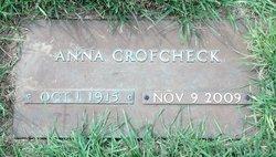 Anna Ada <i>Humphreys</i> Crofcheck