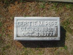 Gertrude Gertie <i>Martin</i> Pope