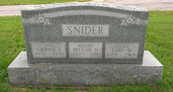 Urmine L Snider