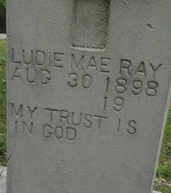 Ludie Mae <i>Collins</i> Ray