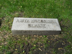 Mrs Anita <i>McCormick</i> Blaine