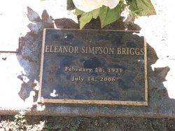 Eleanor <i>Simpson</i> Briggs
