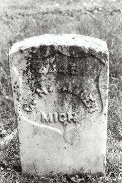 Pvt George H. Allen