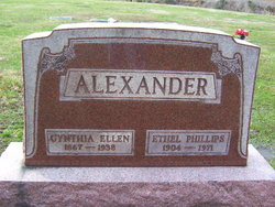 Cynthia Ellen <i>Smith</i> Alexander