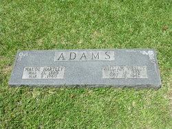 Maude <i>Hartley</i> Adams