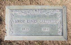 Agatha Louise <i>Ridges</i> Carpenter