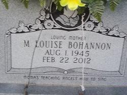 Mabra Louise <i>Hacker</i> Bohannon