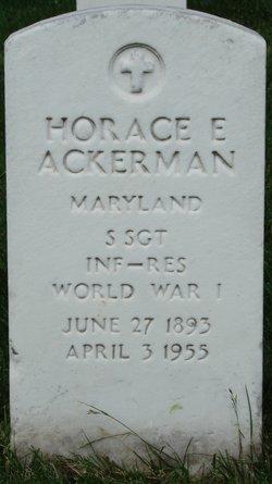 Horace E Ackerman