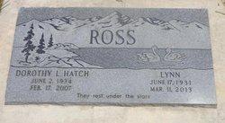 Dorothy L <i>Hatch</i> Ross