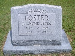 Blanche <i>Jeter</i> Foster