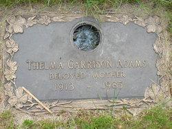 Thelma Florence <i>Loe</i> Adams