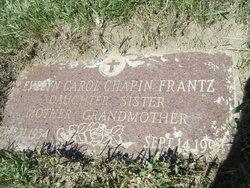 Evelyn Carol <i>Chapin</i> Frantz