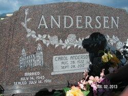 Carol <i>Anderson</i> Andersen