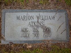 Marion William Willie Atkins