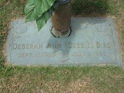 Deberah Ann Debbie Bird