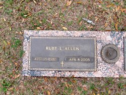 Ruby Louise <i>Anderson</i> Allen